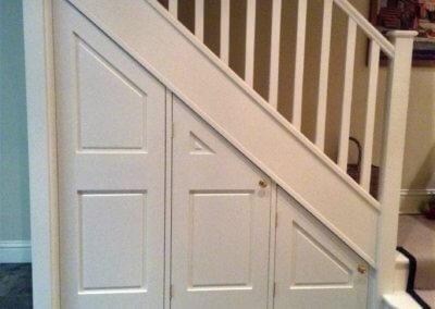 Jaggard family: Bespoke understairs storage