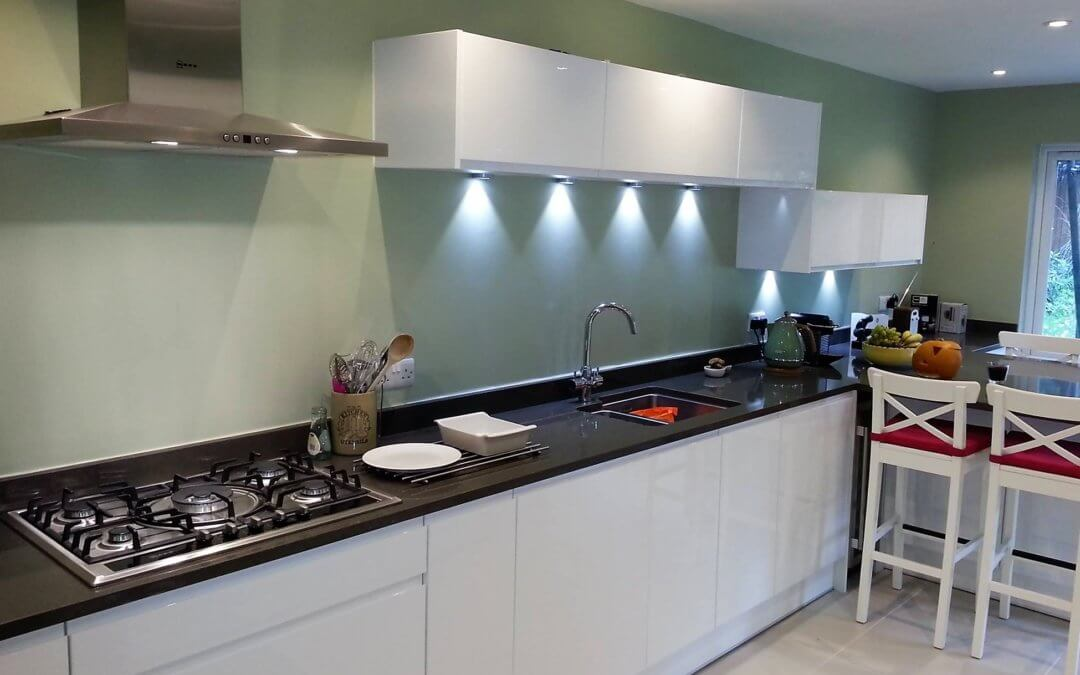 A new kitchen for the Davies family…